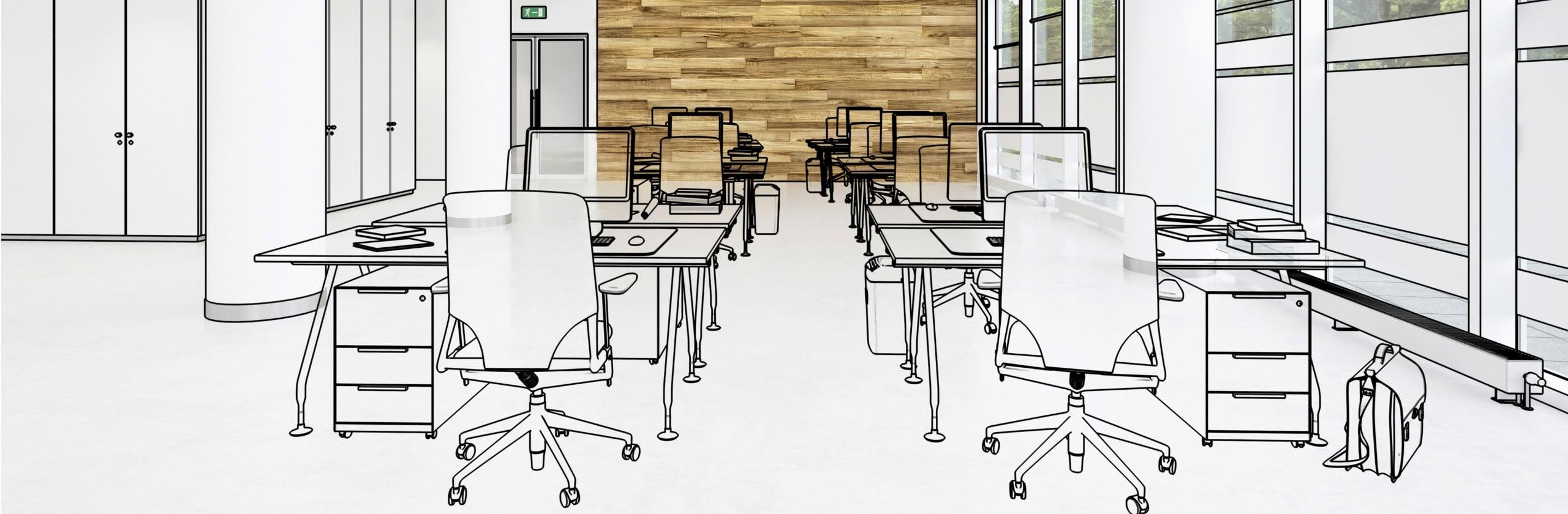 Verschuldete GmbH verkaufen um Büro leeren