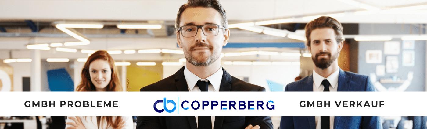 Copperberg GmbH Probleme und Firmenverkauf bei GmbH Abwicklung